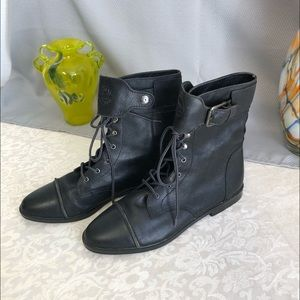 MIA Lace-up Ankle Boots